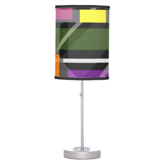 Crossing Shapes Table Lamp