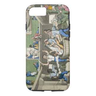 Crossing the Line, plate from 'The Adventures of J iPhone 7 Case