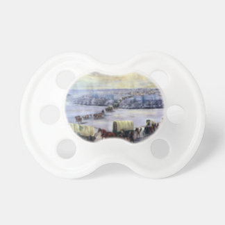 Crossing_the_Mississippi_on_the_Ice Baby Pacifier