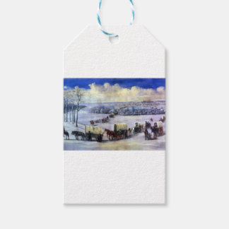 Crossing_the_Mississippi_on_the_Ice Pack Of Gift Tags