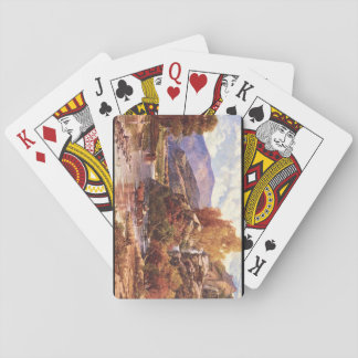 Crossing the Stream', Andrew'_Landscapes Poker Deck