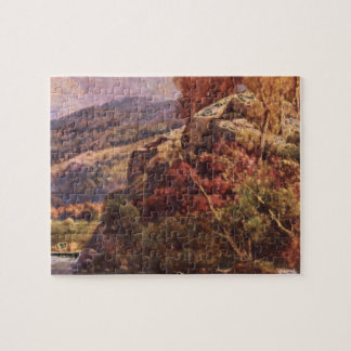 Crossing the Stream', Andrew'_Landscapes Puzzles