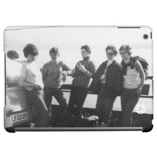 Crossing via ferry iPad air covers