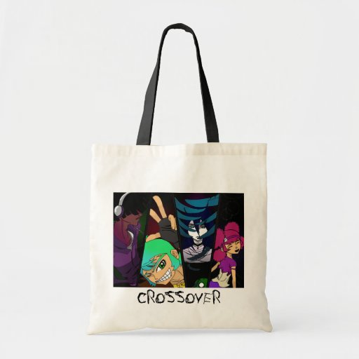 Crossover Characters Canvas Bag