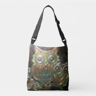 Crossover tote Owl graphic