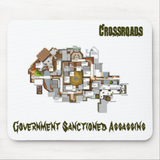Crossroads Map Mousepad