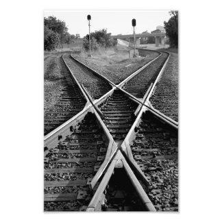 Crossroads Photo Print