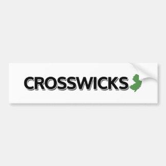 Crosswicks, New Jersey Bumper Sticker