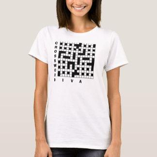 CROSSWORD ADDICT Funny T-Shirt
