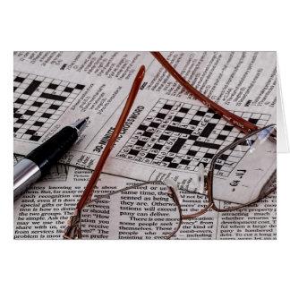 Crossword Genius Greeting Cards