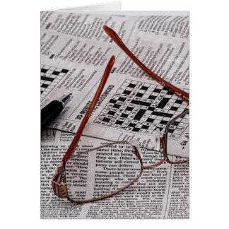 Crossword Genius Note Card