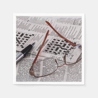 Crossword Genius Paper Napkin