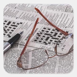 Crossword Genius Stickers