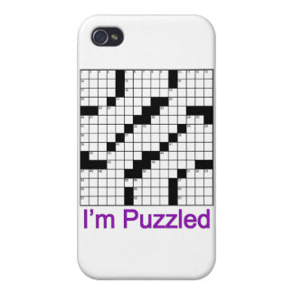 crossword puzzle 01 case for the iPhone 4