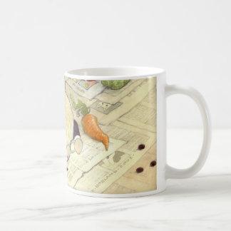 crossword rabbits coffee mug