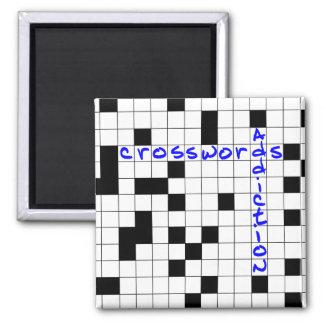 Crosswords addiction magnet