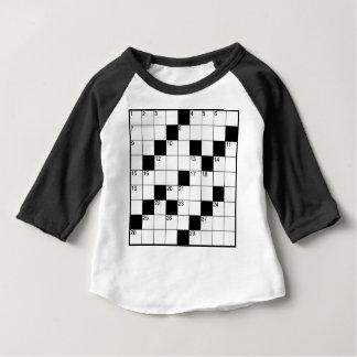 Crosswords Baby T-Shirt