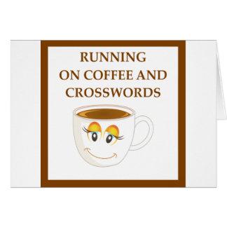 CROSSWORDS CARD