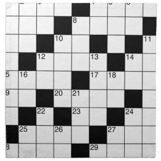 Crosswords Napkin