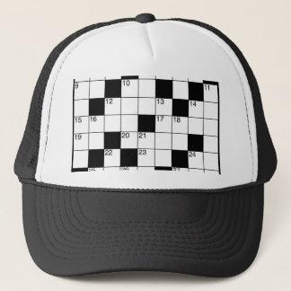 Crosswords Trucker Hat