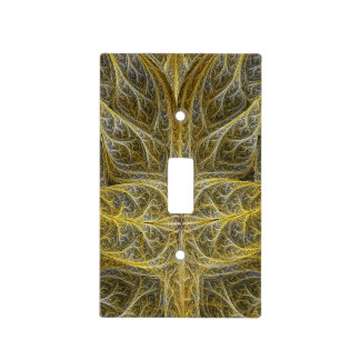 Croton Fractal Light Switch Cover
