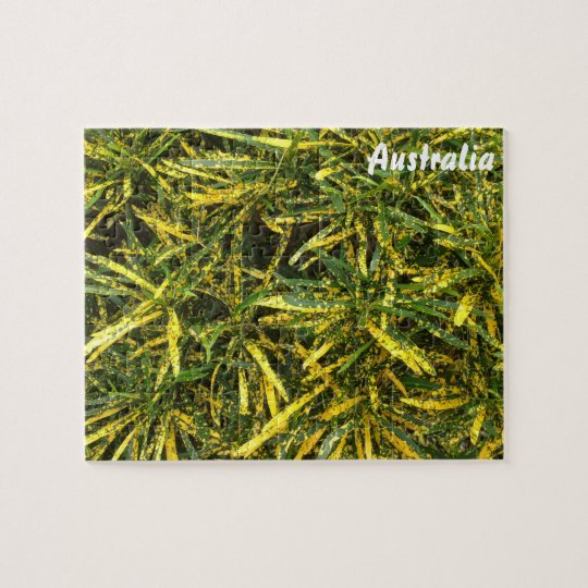 Croton jigsaw puzzle