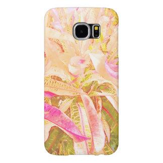 croton leaves (1) Samsung Galaxy S6 case