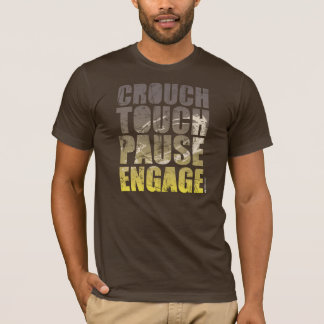 CROUCH TOUCH PAUSE ENGAGE RUGBY T-SHIRT