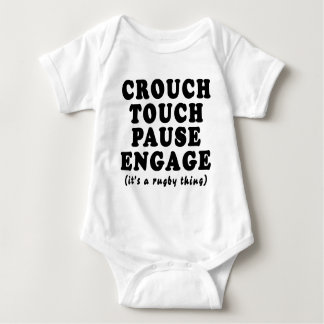 Crouch Touch Pause Engage T-shirts
