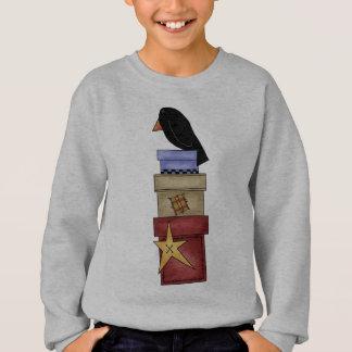 Crow And Gift Boxes Sweatshirt