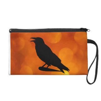 Crow Baglet Wristlet
