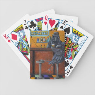Crow Bar Bicycle Playing Cards