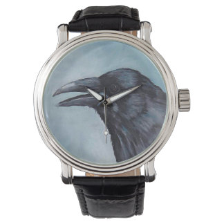 Crow Bird Art Watch