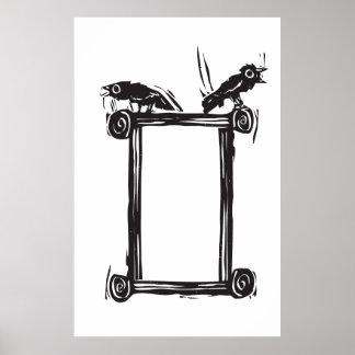 Crow Box Poster
