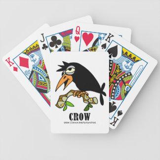 Crow by Lorenzo © 2018 Lorenzo Traverso Bicycle Playing Cards