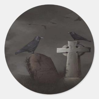 Crow cemetary stickers