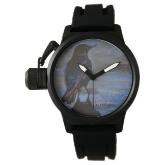 """Crow Colors"" Watch"