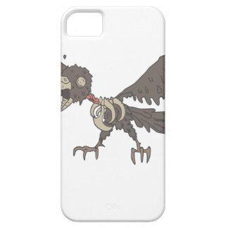 Crow Creepy Zombie With Rotting Flesh Outlined iPhone 5 Cover
