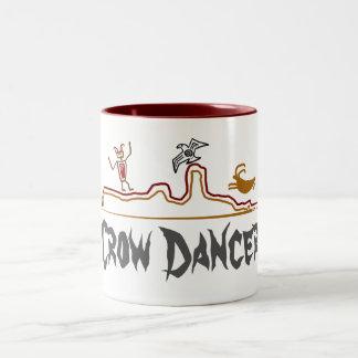 Crow Dancer Petroglyph Mug