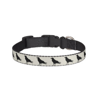 Crow Design Dog Collar