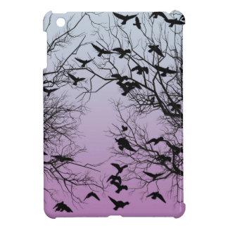 Crow flock case for the iPad mini