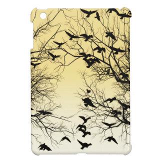 Crow flock iPad mini cases