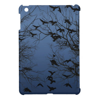 Crow flock iPad mini covers