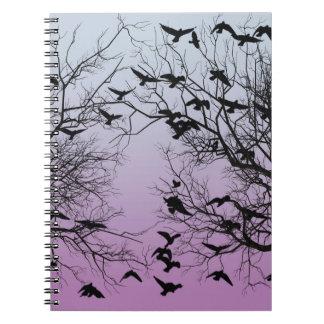 Crow flock notebook