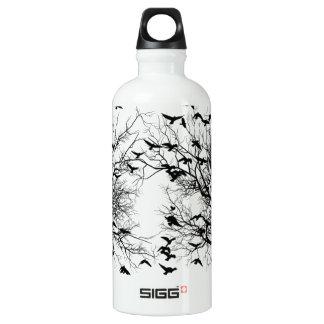 Crow flock water bottle