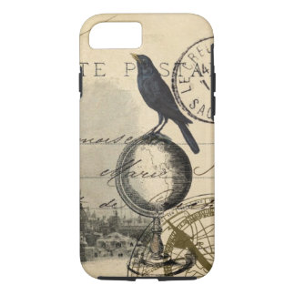 Crow Globe Paris French Case