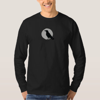 crow in moon T-Shirt