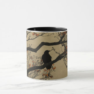 Crow In Tree Mug