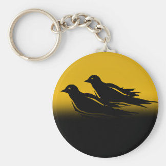 Crow Key Chain