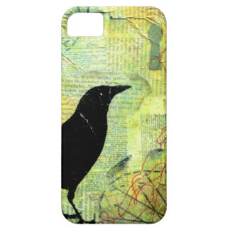 Crow Keyhole Silhouette iPhone 5 Cover